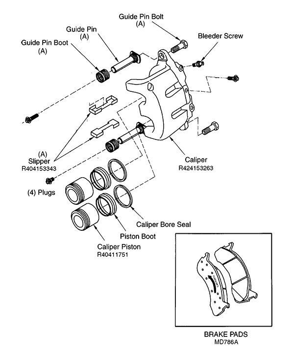 Bosch Brake Parts