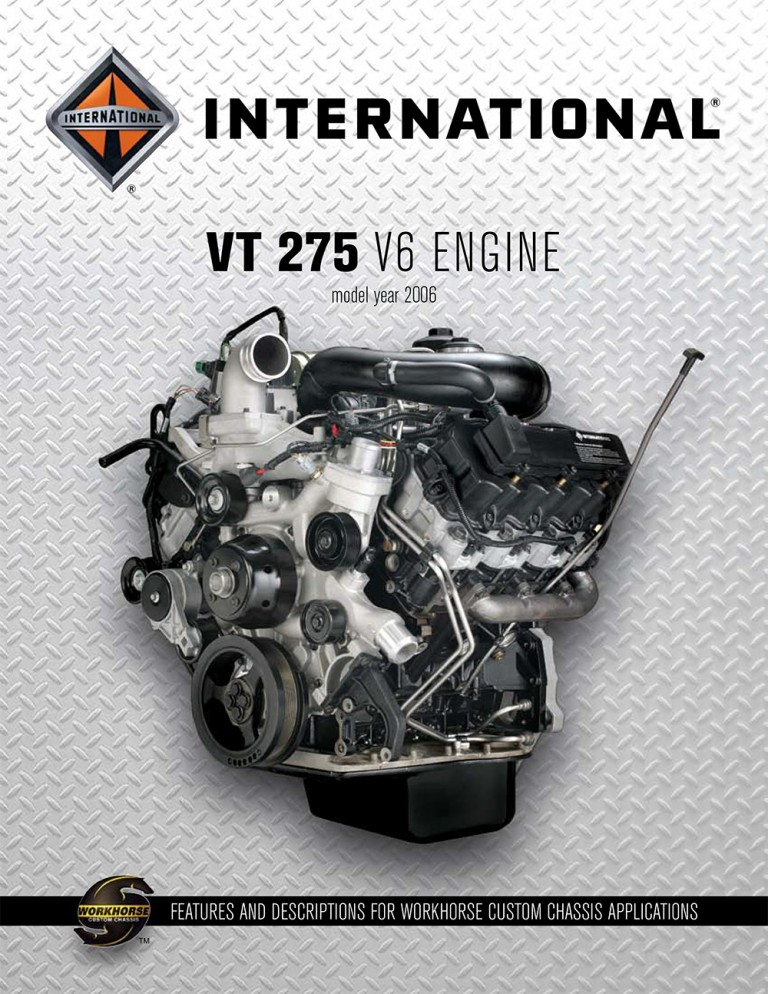 International VT-275 2006 Engine Catalog