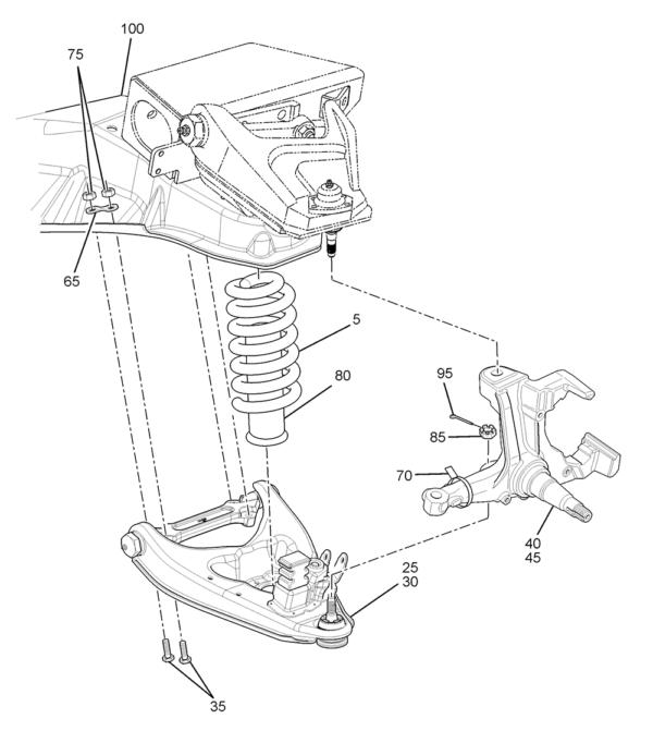 P32 Front Suspension Diagram