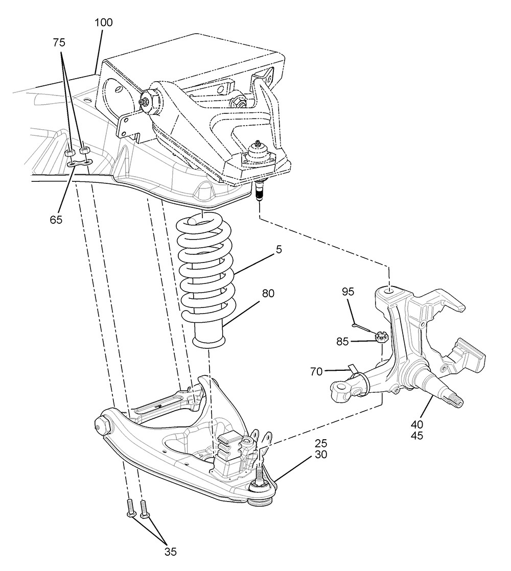 P32 Front Suspension on chevy vacuum line diagrams